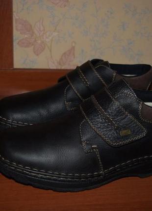 Кожаные полуботинки /ботинки/короткие ботинки