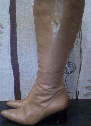 Кожаные сапоги next 36 размер
