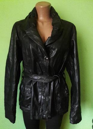 Куртка экокожа на меховой подкладке
