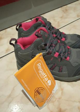 Ботинки черевики regatta,мембрана,р.30,32,34