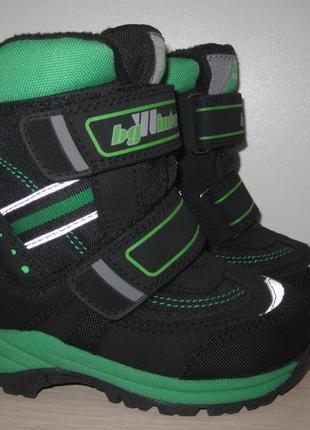 Зимние термо ботинки для мальчика 25 размер
