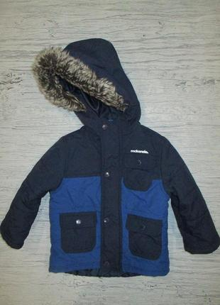 Хорошенькая демисезонная курточка фирмы маккензи на 18-24 мес.