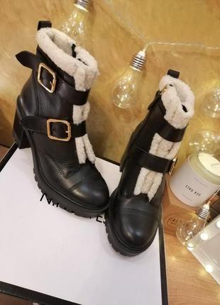 Стильные ботинки полусапожки челси nine west