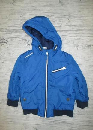 Яркая синяя демисезонначя курточка фирмы джорж на 2 года
