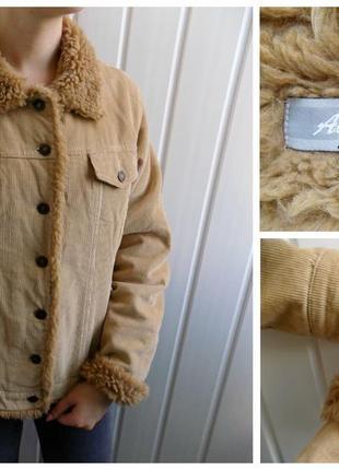 Вельветовая куртка authentic