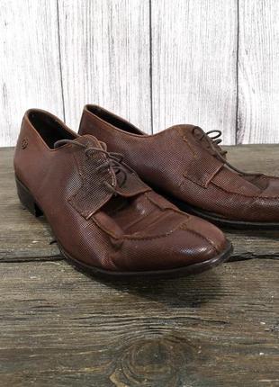 Туфли кожаные cuple, кожаные