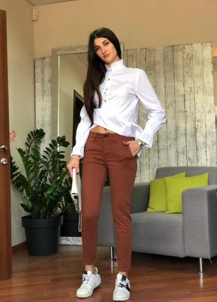 Женские брюки pronto moda (италия) размер l