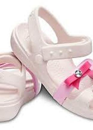 Детские сандалии crocs lina charm размер 13(30-31)