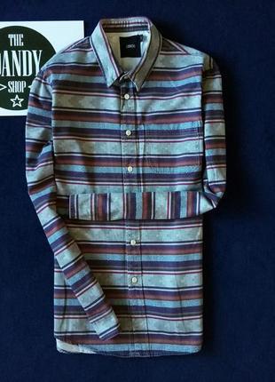 Рубашка в орнамент ф. asos, размер s-м