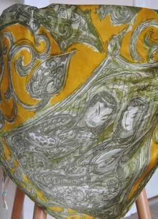 Шелковый платок шарф / шовкова хустка