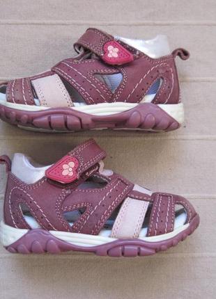 Baren-schuhe (21) кожаные сандалии детские