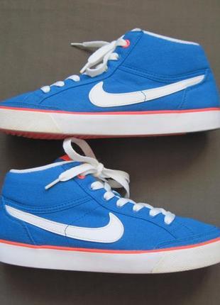 Nike capri 3 mid (35) кроссовки детские