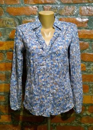 Хлопковая блуза кофточка из коттона esprit