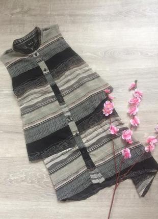 ❤️ красивое асимметричное платье-туника ichi