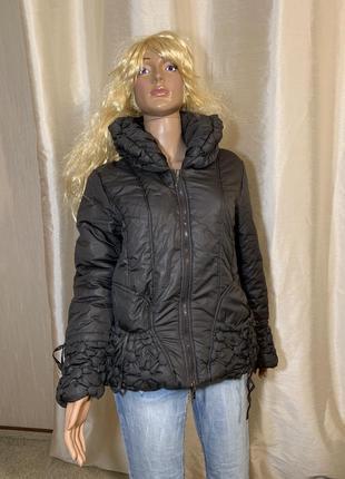 Оригинальная теплая курточка на синтепоне franstyle