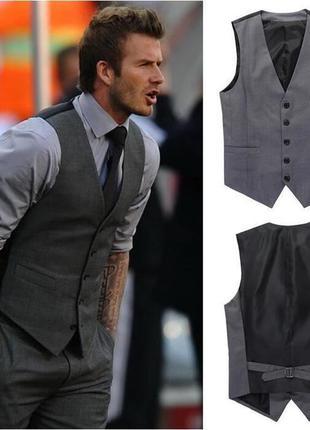 Lanvin vip бренд оригинал дизайнерский мужской жилет#жилетка шерсть#шелк.