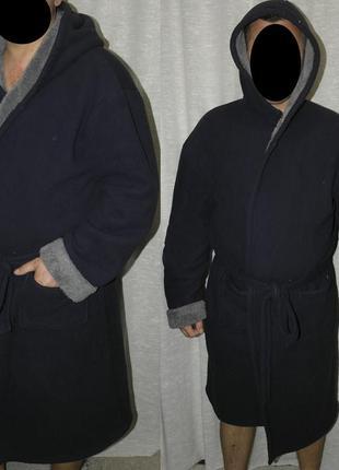 Next халат очень теплый флис велсофт