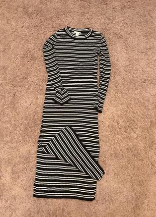 1+1=3 трикотажное платье