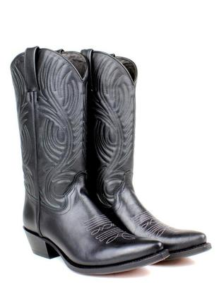 Стильные модные брендовые ковбойские сапоги(казаки) tony mora. размер 39,5-40.