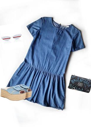 Милое джинсовое платье от dorothy  perkins.