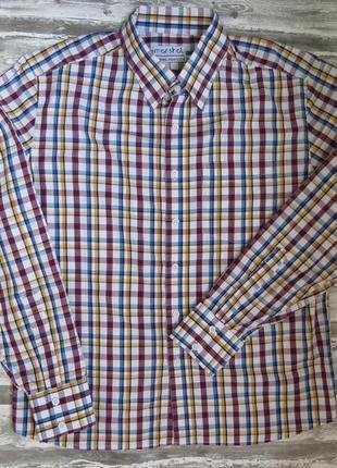 Рубашка с длинным рукавом 50 размер