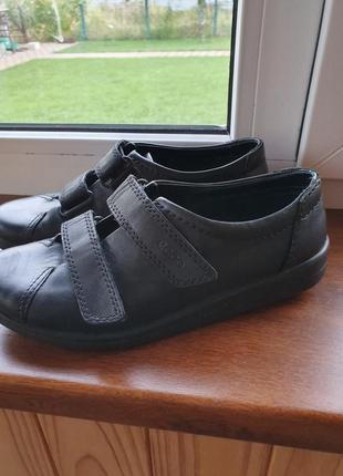 Кожаные ботинки ессо
