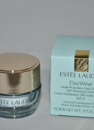 Увлажняющий крем для нормальной и комбинированной кожи estee lauder daywear spf15
