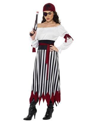 Платье костюм карнавальное пират пиратки