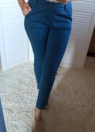 Синие джинсы мом