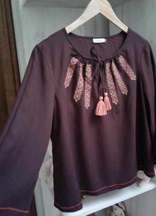 Вишиванка, блузка only 40 р. l