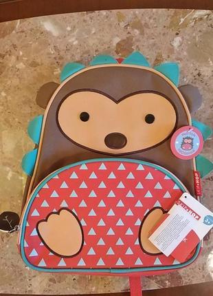 Детский рюкзак skip hop ёжик оригинал америка