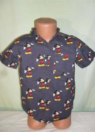 Рубашка на 4-5лет