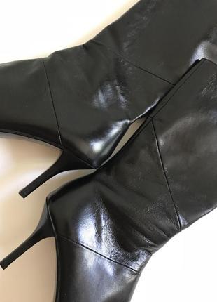Новые!!!! carvela, кожаные сапоги сапожки полусапожки полусапоги