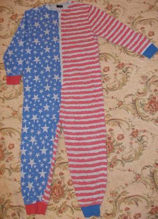 Пижама кигуруми слип ромпер на 7-8 лет рост 122-128 см