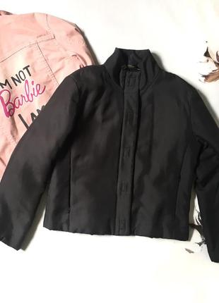 Короткая куртка/бомбер/100% шёлк