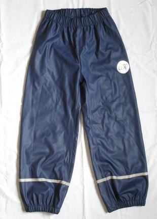 Непромокаемые штаны дождевик со светоотражателями