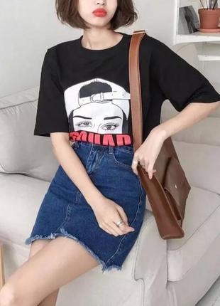 🤩шикарная джинсовая юбка remix🤩