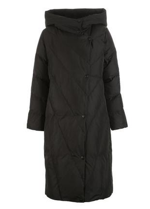 Пуховик пальто пуховое кокон оверсайз зима бренд vero moda