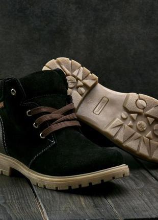 Ботинки зимние на меху подростковые