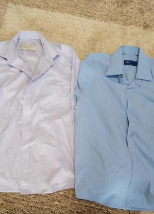 Рубашка на мальчика  134-140 р. (2шт.)