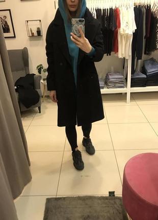Пальто кокон итальянский кашемир вика адамская