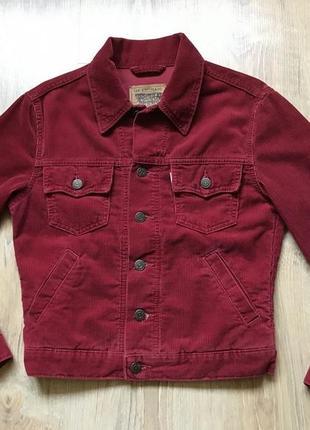 Вельветовая куртка levis пиджак деним