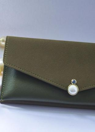 💥качества - цена🔥/новый шикарный стильный кошелек портмоне / клатч zara