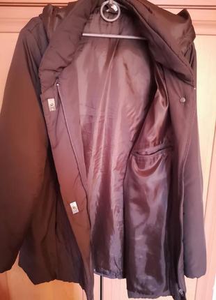 Куртка на синтепоне, осень