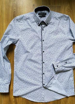 Рубашка primark slim fit