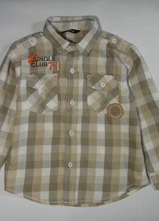 Рубашка george 3-4 года, 98-104 см