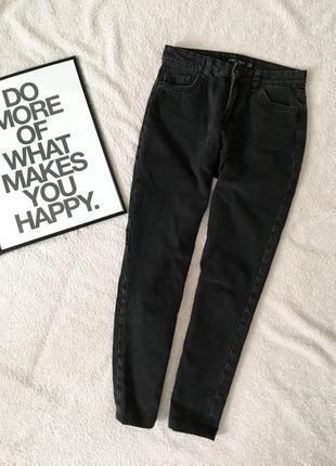 Мом джинсы, высокая посадка mom
