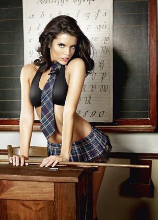 5-178 эротический костюм школьница сексуальний комплект білизни
