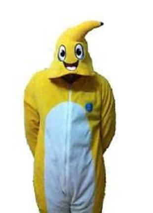 Банан кигуруми слип человечек пижама xs-s