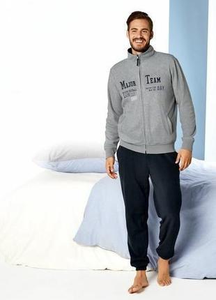 Флисовый мужской спортивный костюм